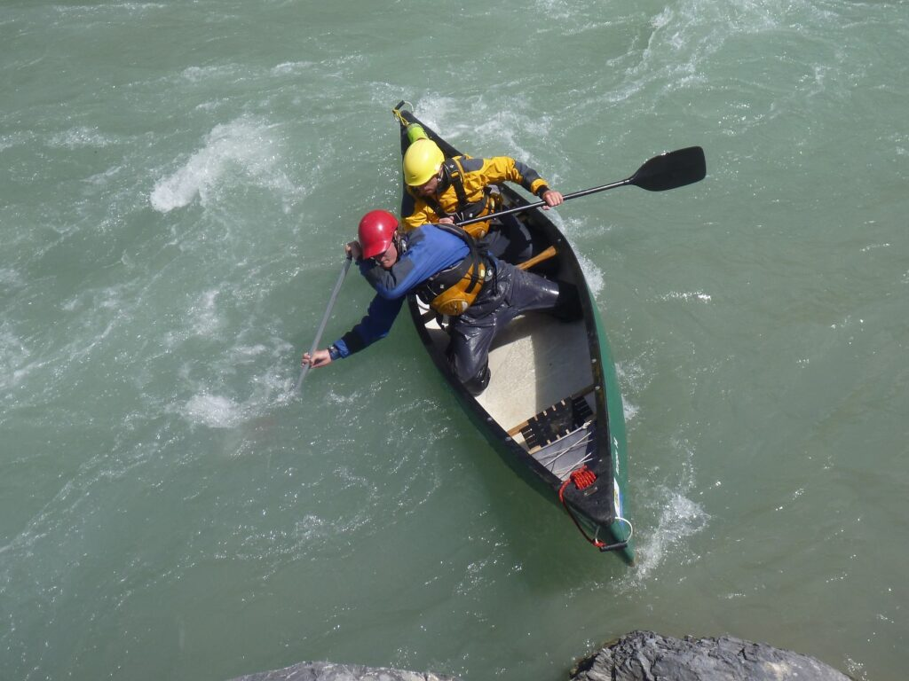 British Canoeing Personal Performance, Leadership & Guides award courses.