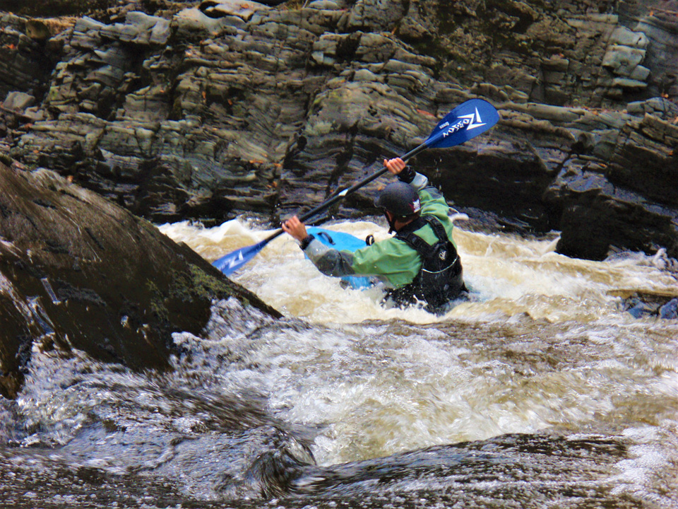Advanced White Water Kayak Leader training