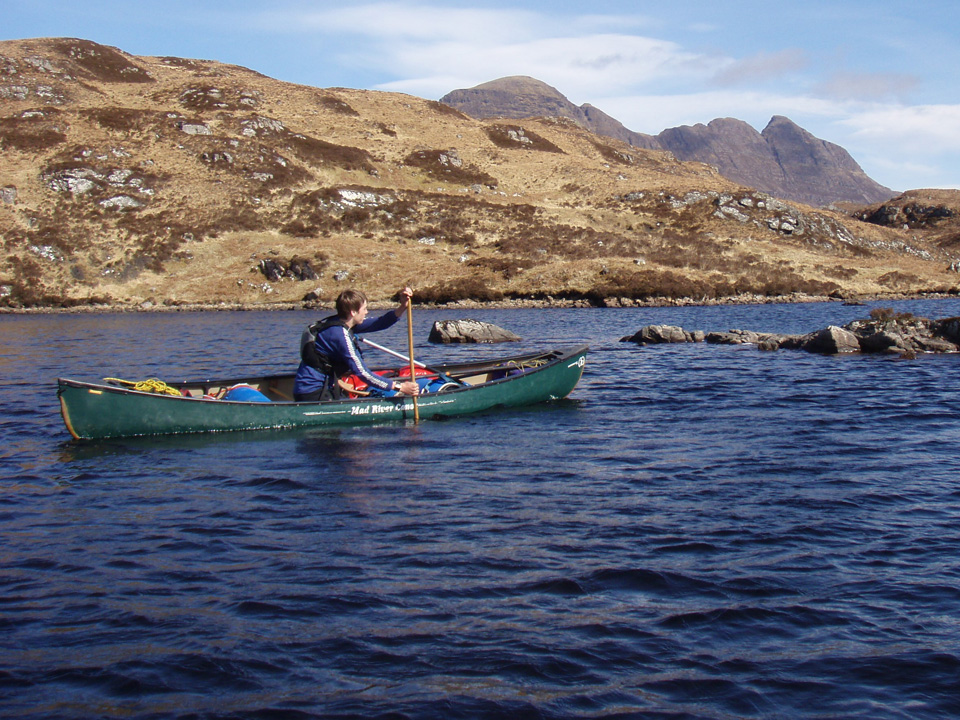 Private canoe tuition & guiding for individuals and groups