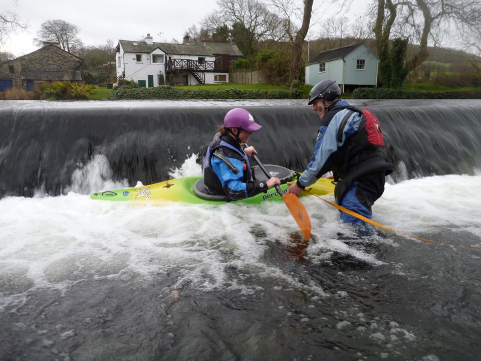 Progressive White Water Kayak Award