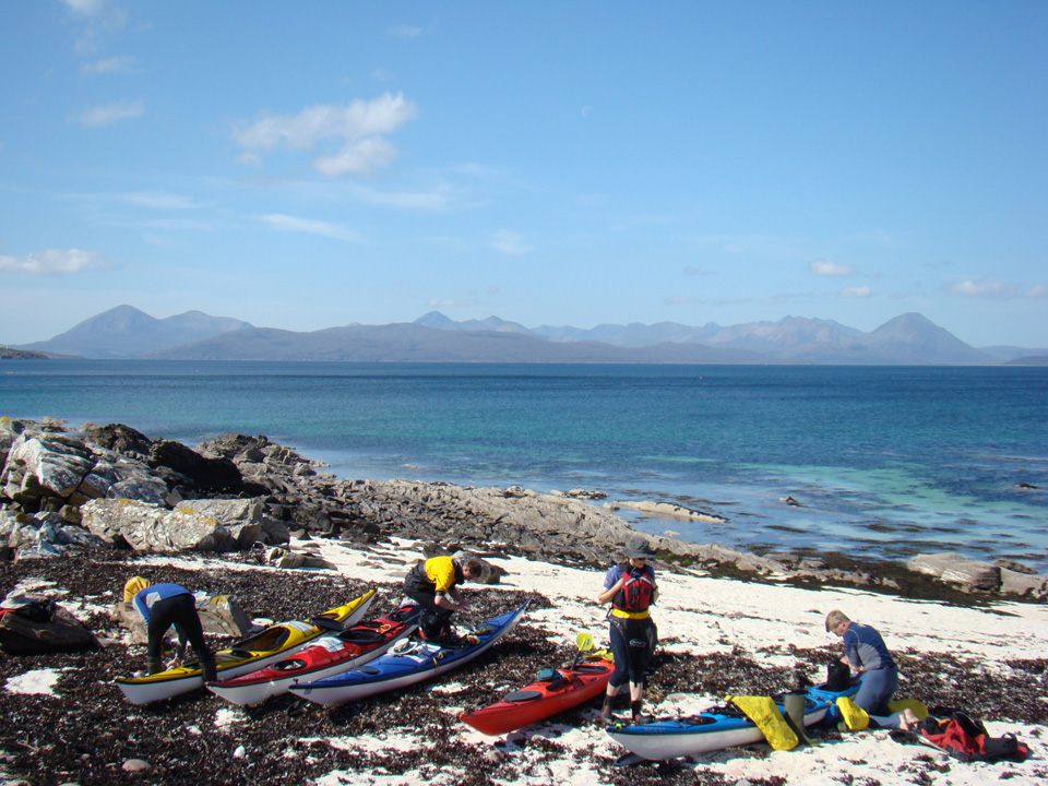 Sea Kayak Expedition West Scotland