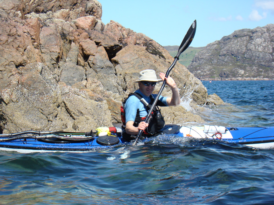 Private sea kayak tuition & guiding for individuals and groups