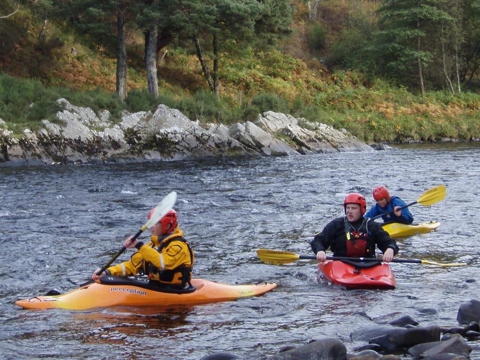 White Water Kayak Award