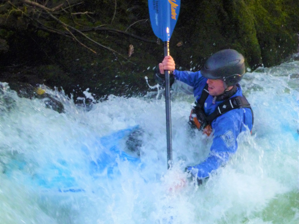 British Canoeing Personal Performance, Leadership, Safety & Guides award courses.