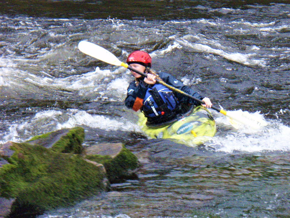 White Water Kayak Leader Assessment
