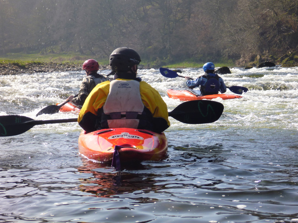White Water Kayak Leadership and Safety & Rescue courses
