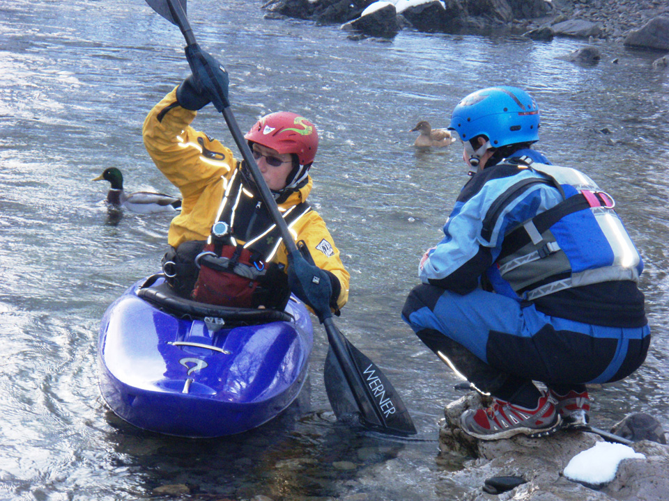 Private White Water Kayak tuition & guiding for individuals and groups