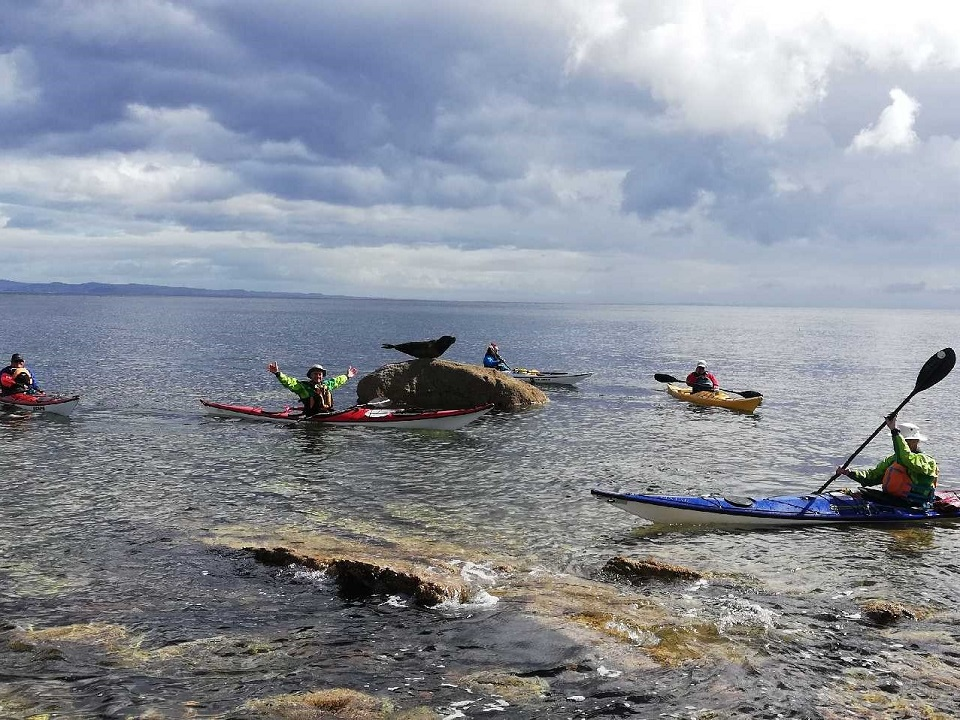 Sea Kayak trip Arran